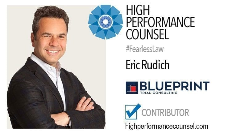 Eric rudich partner and senior litigation consultant at blueprint eric rudich partner and senior litigation consultant at blueprint trial consulting malvernweather Images